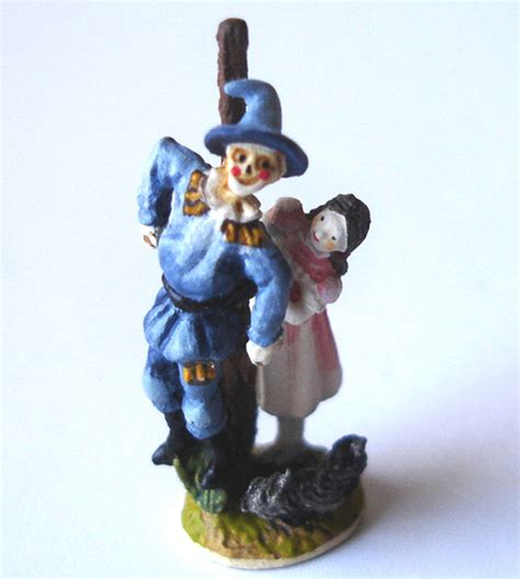 olszewski goebel scarecrow dorothy miniature figurine