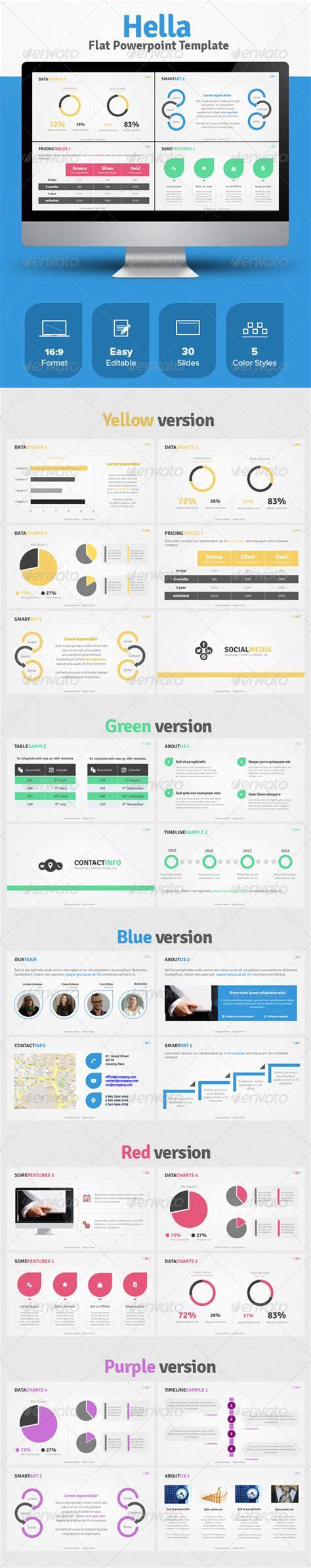 flat design keynote template 5 flat design powerpoint and keynote templates list