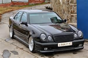 W210 Mercedes Mercedes W210 With Mae Wheels Benztuning