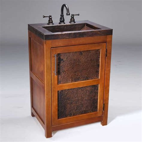 thompson traders 22 quot petit rustic single sink bathroom