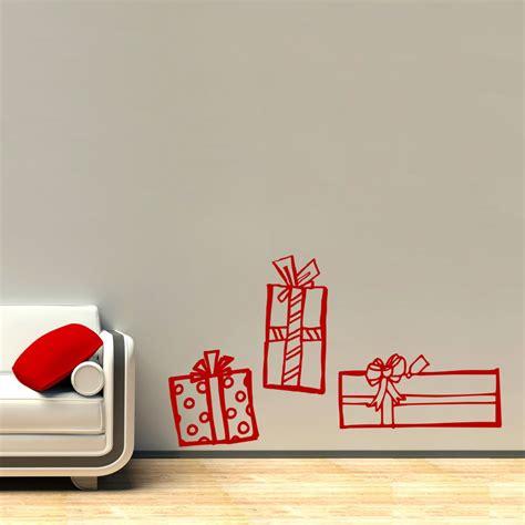 Christmas Tree Wall Sticker christmas presents wall decal sticker
