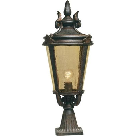 Best Light Bulb For Outdoor L Post by Elstead Bt3l Baltimore 1 Light Outdoor Post L Weathered