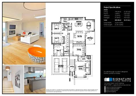 signature homes floor plans
