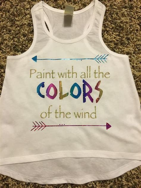 paint with all the colors of the wind lyrics paint with all the colors of the wind pocahontas shirt