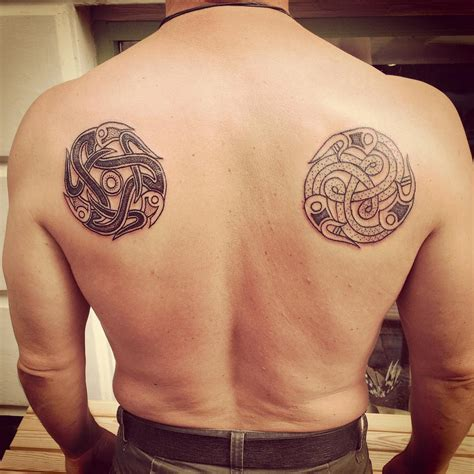 vikings tattoos 50 exceptional viking designs