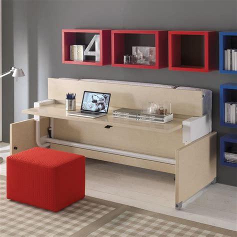 letto con scrivania sotto all in one letto a scomparsa singolo con scrivania scrittoio