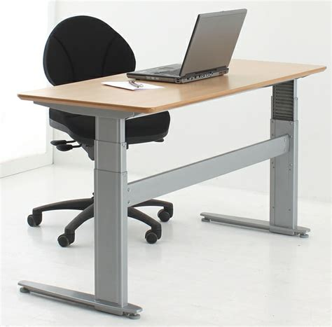 sit stand electric desk conset 501 27 sit stand electric desk wave