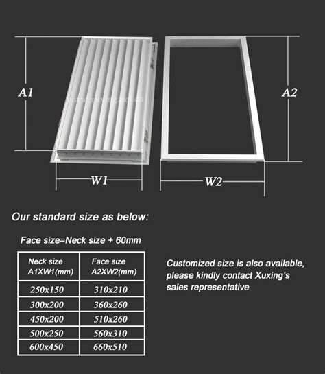 Interior Door Vent Grill by Quality Products Hvac Aluminium Door Vents For Interior