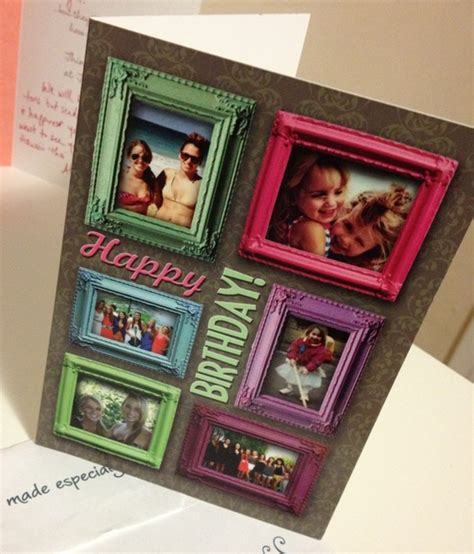 Custom Gift Card Printing - cleverbug taps facebook snaps for personalized birthday cards