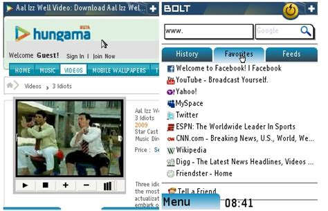 mobile browser support flash mobile browser bolt adds flash support for