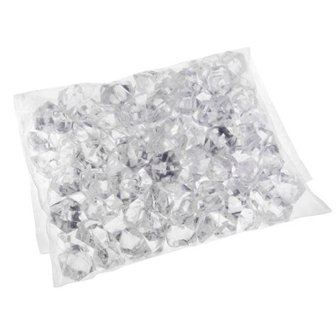 Acrylic Rock Vase Filler by 1 Pack Translucent Clear Acrylic Rocks Gems