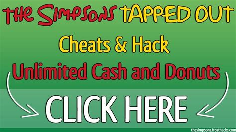simpsons tapped out hack android the simpsons tapped out hack free donuts and cheats android ios