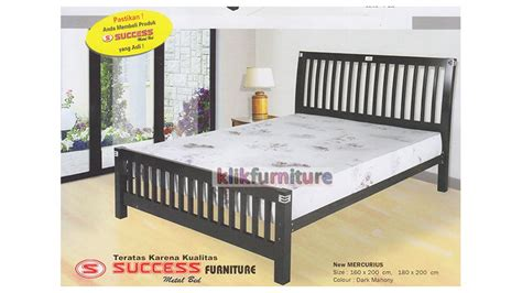 Ranjang Kayu No 1 ranjang semi kayu new mercurius success harga agen
