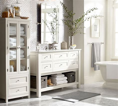 Pottery Barn Bathroom Ideas by Create A Guest Bathroom Stylechicago
