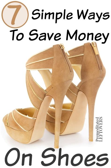 7 ways to save money 7 ways to save money on shoes