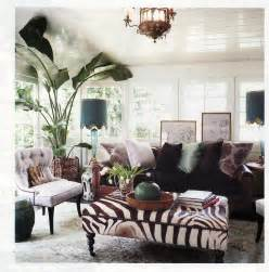 Home Design Animal Print Decor by Rachel Hazelton Interior Design Style File Boho Chic
