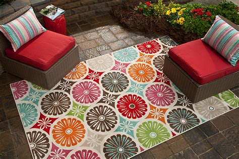 Colorful Outdoor Rug Five Ways To Update Your Outdoor Space Mohawk Homescapes Mohawk Homescapes