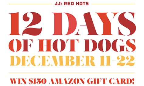 jj s dogs jj s hots invites fans to create their own during 12 days of dogs