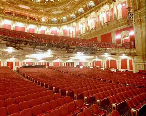 Boston Opera House Seating Chart   Row & Seat Numbers