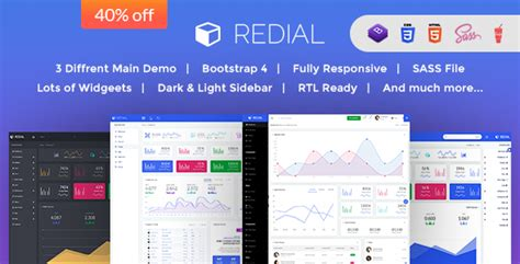 redial bootstrap 4 admin dashboard template by redial bootstrap 4 admin dashboard template download