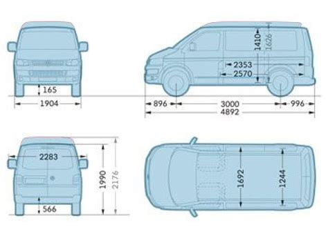 volkswagen caravelle dimensions hire the vw transporter t29 civilised car hire