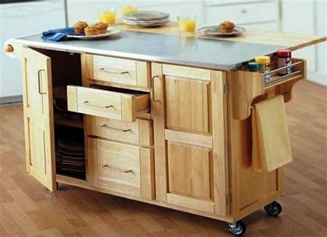 kitchen rolling islands unique rolling kitchen island ideas