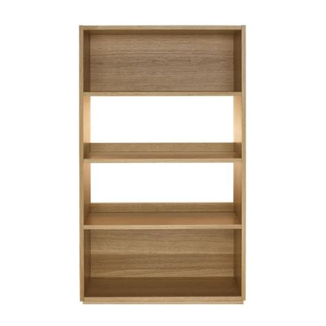 kuda shelves and bookcases wood habitat