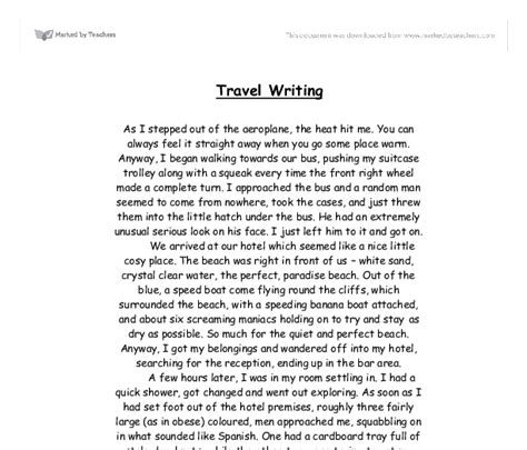 Essay About Trip by International Travel College Travel Tourism Courses Rachael Edwards