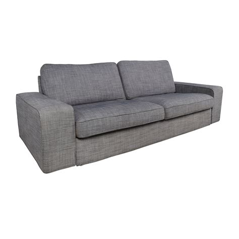 ikea gray sofa kivik sofa with chaise orrsta light gray
