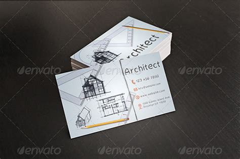 architects business card template 31 best business cards for architects constructors