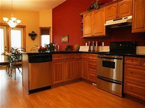 Kitchen Paint Colors With Oak Cabinets And Stainless Steel Appliances ALL ABOUT HOUSE DESIGN