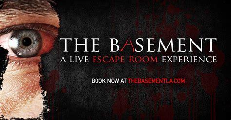 the basement la the basement a live escape room experience