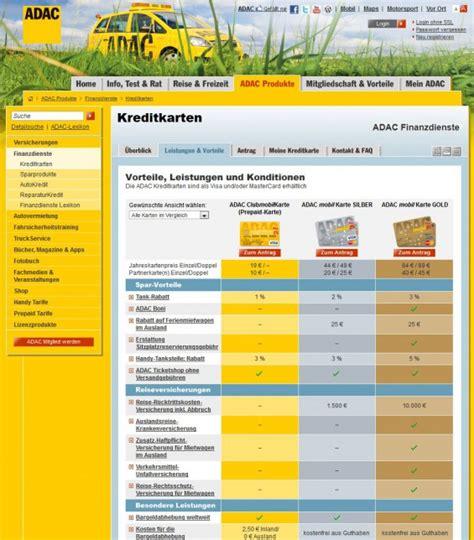 www adac de kreditkarten freistellungsauftrag adac kreditkarten im vergleich teuer aber wie gut