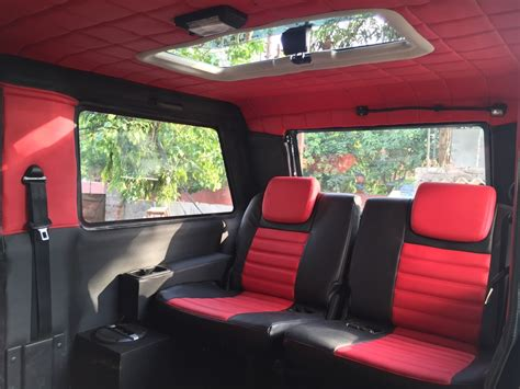 mahindra thar modified seating custom mahindra thar by revheads chandigarh