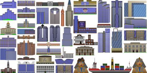 2d building yevgeny blinov city buildings pack by
