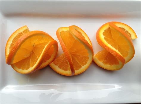 fruit garnish how to make a fancy orange twist garnish fancy