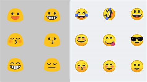 emoji faces for android android o emoji go from gumdrop to usable pocketnow