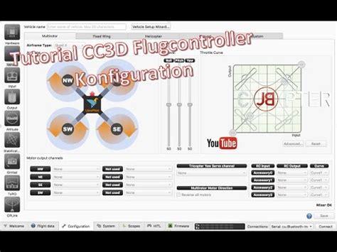 tutorial c deutsch librepilot tutorial deutsch cc3d youtube