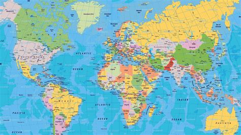 world maps  countries  states world map vector