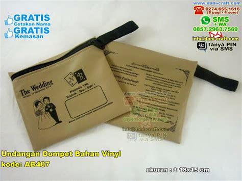 Kusima Dompet Kayu Dan Pouch Kulit undangan dompet bahan vinyl souvenir pernikahan