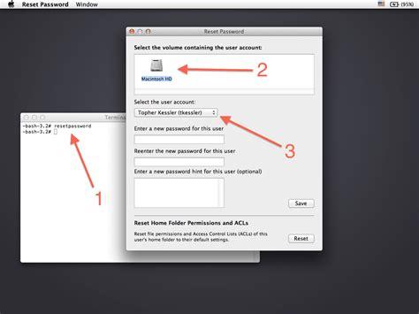 windows password reset appkeen reset root or admin password on mac os x hawkdive