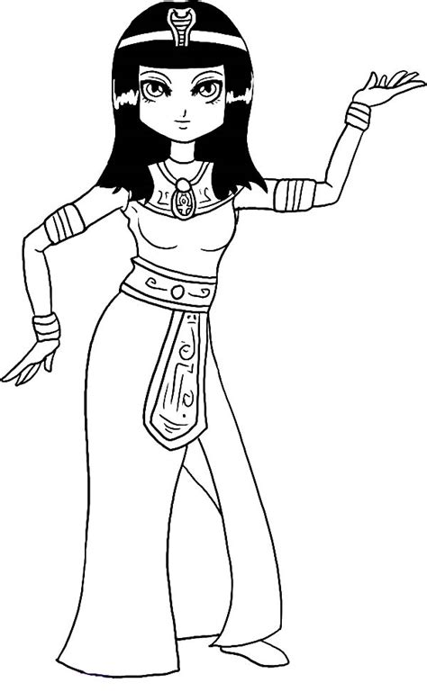 cleopatra 18 characters printable coloring pages