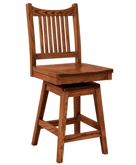 Mission Bar Stool by Royal Mission Bar Stool Amish Direct Furniture