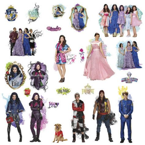 Descendants Sticker Book
