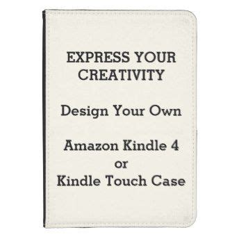 design your own case for your amazon kindle 4 or kindle