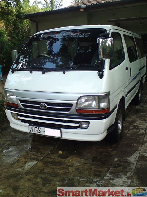 Toyota Hiace Hire Toyota Hiace Hire Service For Rent In Colombo