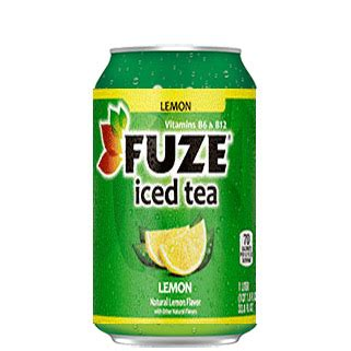 Fuze Can Iced Tea Lemon   Prestige Services   Vending Machines   Bottled Water   Micro Markets