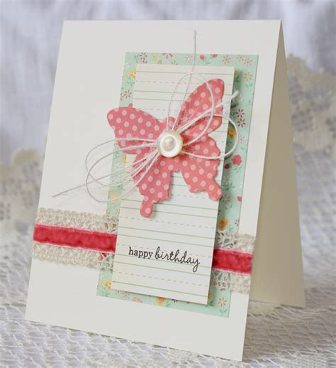 Handmade Cards For Birthday - handmade happy birthday greeting card