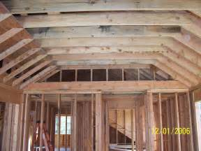 vaulted ceiling carpentry contractor talk