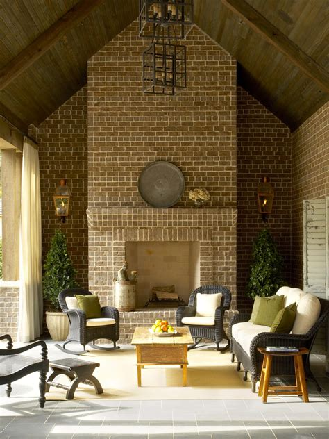 outdoor living room with fireplace 20 outdoor structures that bring the indoors out outdoor